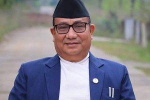 मन्त्री लामालाई हेलिकोप्टरमार्फत काठमाडौं लगियो