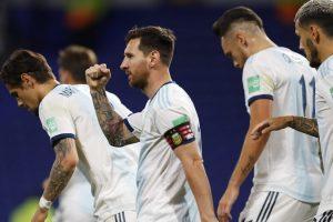 विश्वकप छनोट खेलमा अर्जेन्टिनाले पेरु र ब्राजिलले उरुग्वेलाई हरायो
