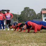 नौ महिनापछि नेपाली क्रिकेट टिमको प्रशिक्षण