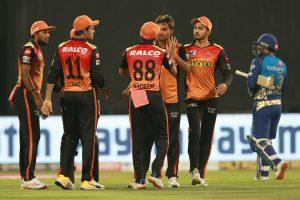 हैदराबाद आईपीएल क्रिकेटको प्ले अफमा प्रवेश