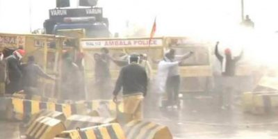 भारतमा कृषि कानुनको विरोधमा प्रदर्शन