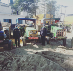 नवलपरासीमा नदीजन्य पदार्थ चोर्ने ९ वटा ट्याक्टर नियन्त्रणमा , भन्सार छली ल्याएको अवैध बरामद