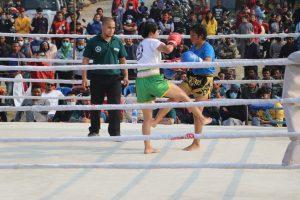 मुवाँ थाई फाइटमा आर्मीका रुचाल विजयी