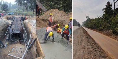 नारायणगढ-बुटवल सडक विस्तारले गतिलिँदै,गैंडाकोटमा अधिकाशं साना कल्भर्ट निर्माण