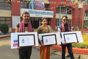 पत्रकार रानाभाटलाई टिभेट मिडिया अवार्डको दोस्रो पुरस्कार प्रदान