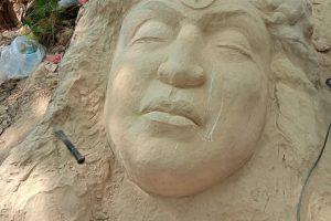 मौलाकालिकाको पदमार्गमा आकर्षक कलात्मक मूर्ति निर्माण (फोटो फिचर)