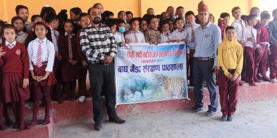 राप्ती तटीय क्षेत्र सरसफाई अभियानले विश्व वन्यजन्तु दिवस मनायो