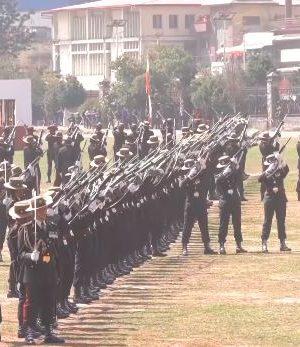 टुँडिखेलमा यसरी मनाइँदैछ सेना दिवस, खुकुरी ड्रिलदेखि कवाजसहित विशेष समारोह