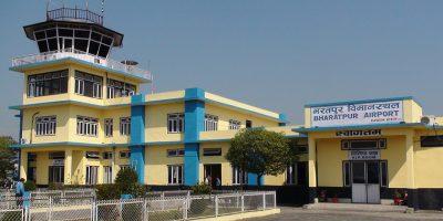निषेधाज्ञापछि भरतपुर विमानस्थलबाट ११ उद्धार उडान