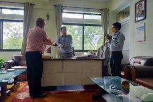 बजेटमा आफ्ना माग समेट्न गण्डकी प्रदेश सरकारलाई पत्रकार महासंघको ध्यानाकर्षण