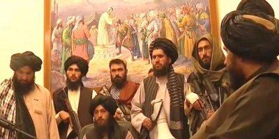 राष्ट्रपति भवनलाई कब्जामा लिँदै तालिबानले भन्यो : 'युद्ध सकियो', 'राष्ट्रपति भागे'