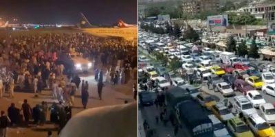 काबुलको विमानस्थलमा तनाव , ६ हजार सुरक्षाकर्मी परिचालन