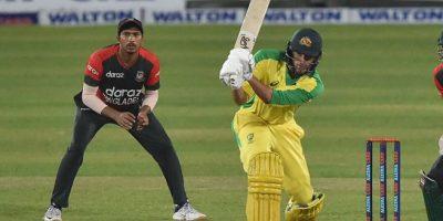 बङ्गलादेशसँगको चौथो टी–ट्वान्टीमा अस्ट्रेलिया विजयी