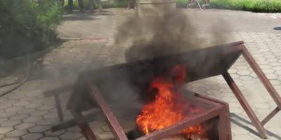 अनलाइन कक्षाको चर्को शुल्क लिएपछि आगजनी