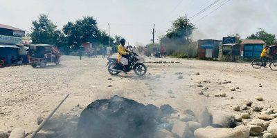 बुटवलमा सुकुम्बासी र प्रहरीबीचको झडपमा ३ जनाको मृत्यु