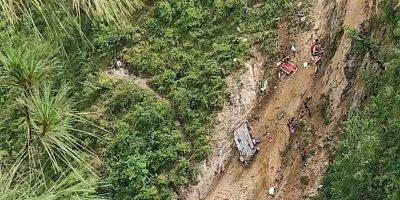 अपडेट : मुगु बस दुर्घटनामा मृत्यु हुनेको संख्या ३२ पुग्यो