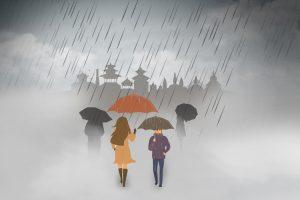 आज पूर्वी नेपालमा भारी वर्षाको सम्भावना